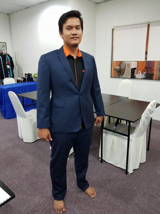 Tempah Coat Suit Seluar