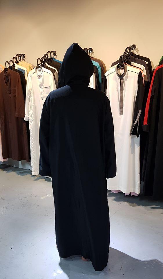 jubah pelawat masjid untuk non-muslim
